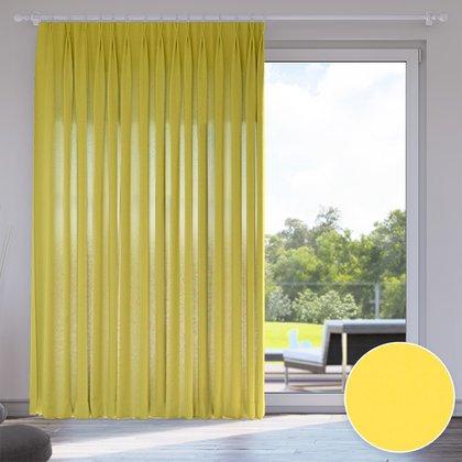 zasłona przyciemniająca żółty