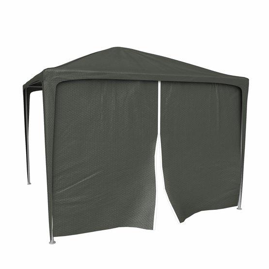 Ścianka z drzwiami do namiotów ogrodowych, 2,95x1,95 m