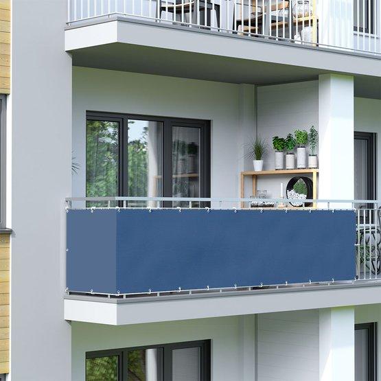 Osłona balkonowa, wodoodporna