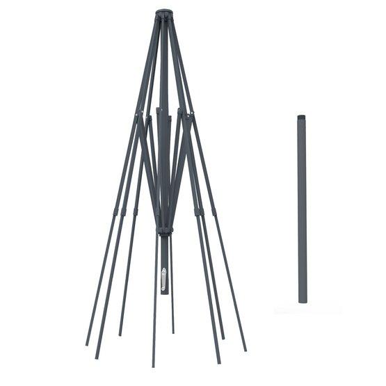 Stelaż aluminiowy do okrągłego parasola ogrodowego 5 m