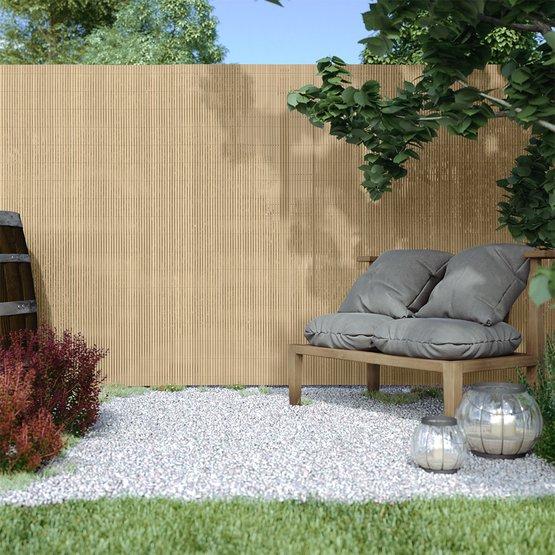 Płotek ogrodowy PVC, szer. listwy 13 mm
