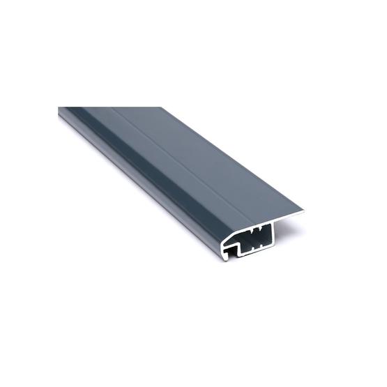 Zestaw dwóch profili aluminiowych do moskitiery drzwiowej