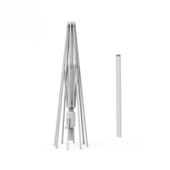 Stelaż aluminiowy do okrągłego parasola przeciwsłonecznego interpara 3,5 m